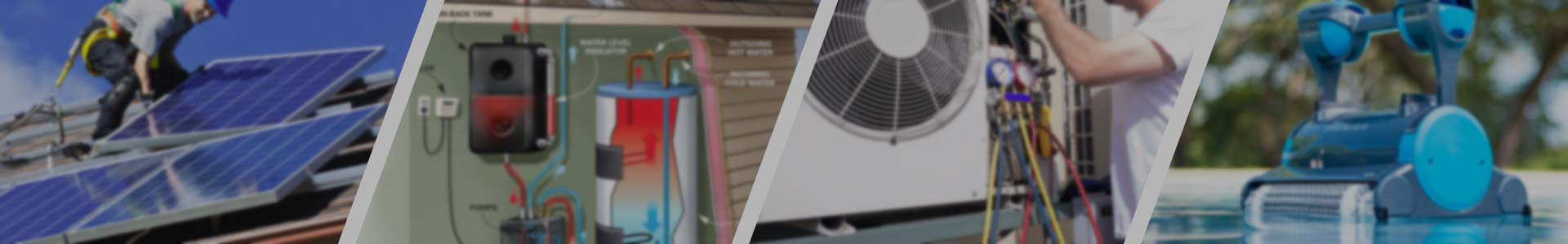 Warmwassertechnik - Leistungen - Solar Power Systems